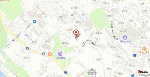Гостевой дом Татьяна на карте