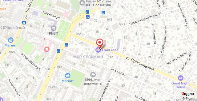 Апарт-отель Грин Холл на карте
