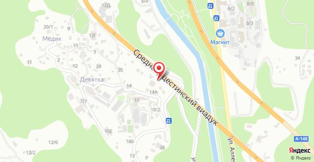 Гостевой дом Мацеста на карте