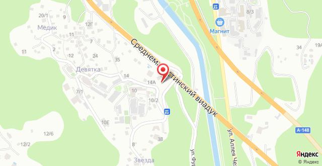 Гостевой дом На Мацеста на карте