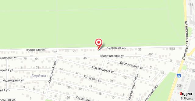 Гостевой дом На Кудрявой, 58 на карте