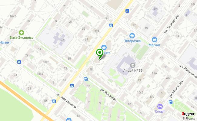 Сбербанк Ярославль ул. Гагарина 51 карта