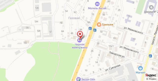 Гостевой Дом Черная Жемчужина на карте