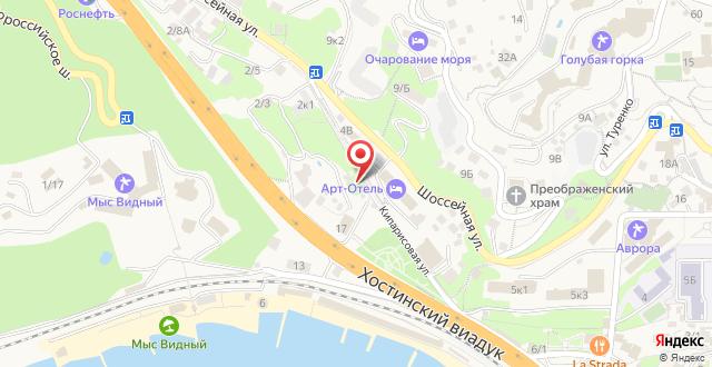 Гостевой дом Кипарис на карте