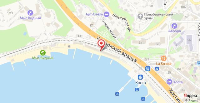 Санаторий Кавказ на карте