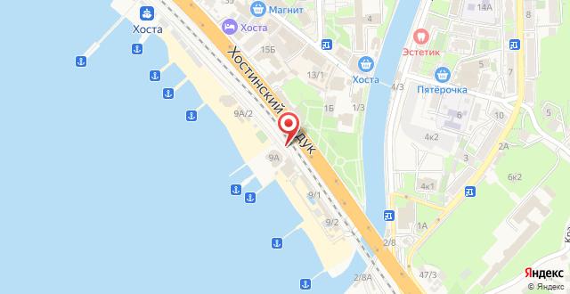 Мини-отель Бриз на карте