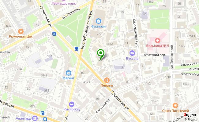 Сбербанк Ярославль ул. Советская 34 карта