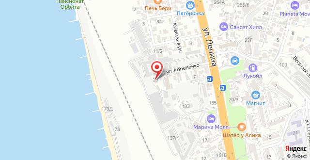 Гостиница Даниэль на карте