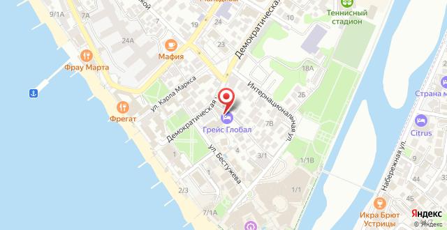 Отель Грейс Глобал Конгресс&СПА на карте