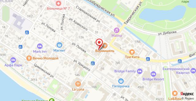 Мини-отель Лемонграсс на карте