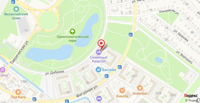 Курортный отель Бархатные Сезоны Русский Дом Семейный Квартал на карте