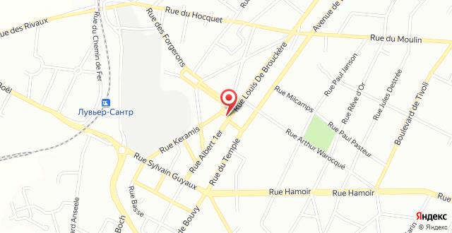 Hotel Le New Matinal на карте