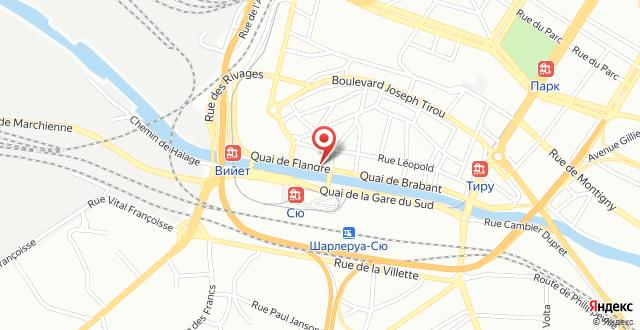 ibis Charleroi Centre Gare на карте