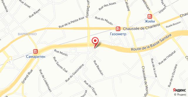 Hotel De La Basse Sambre на карте