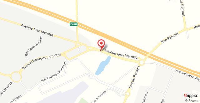 ibis Budget Charleroi Airport на карте
