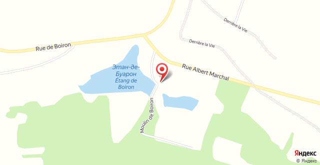 Hotel Moulin de Boiron на карте
