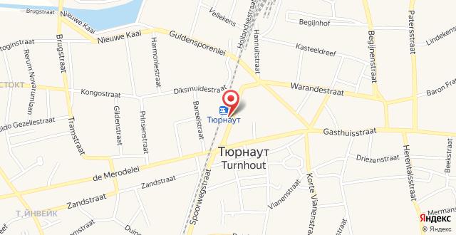 Best Western Plus Turnhout City Hotel на карте