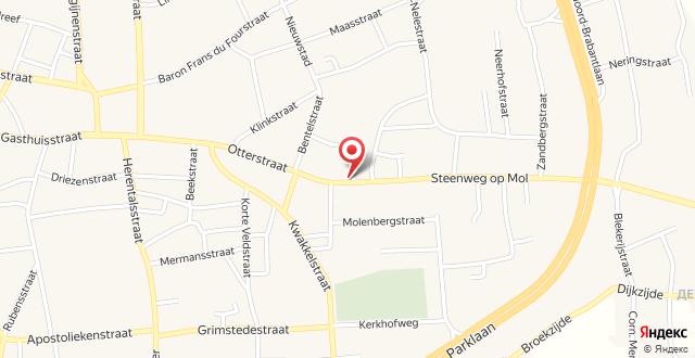 De Buitenmuur Guest House на карте