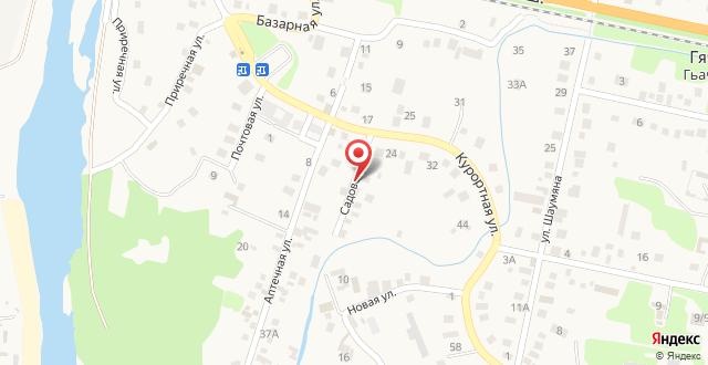 Гостевой дом Гаянэ на карте