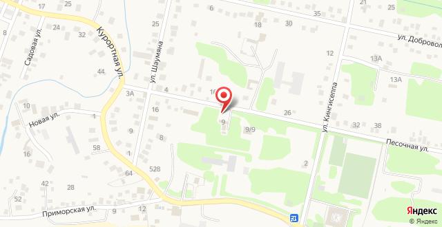 Гостевой дом Магнолия на карте