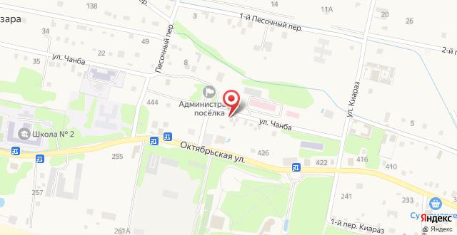 Гостевой дом Цандрыпш на Чанба 7 на карте