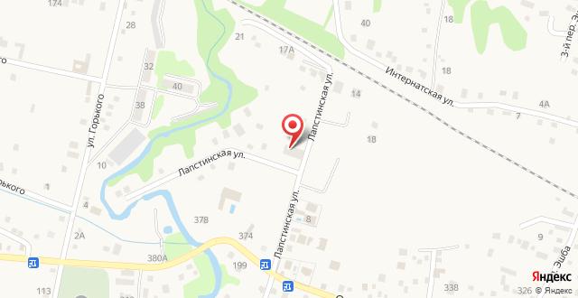 Резиденция Апсны на карте