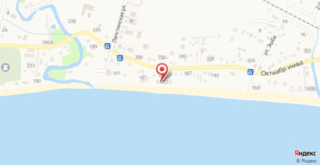 Отель Аве Мария на карте