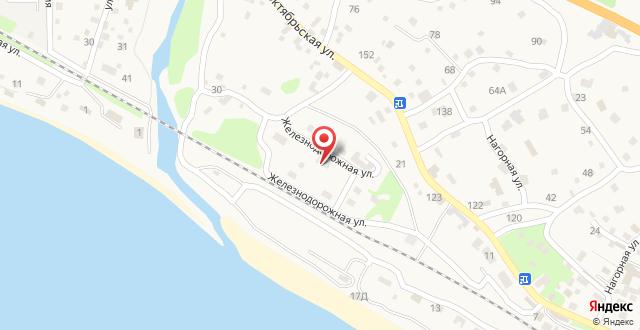 Апартаменты В Цандрыпш на карте