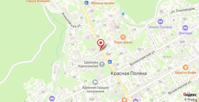 Гостиница Тукан на карте