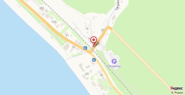 Guest house Geroev 16 marta на карте