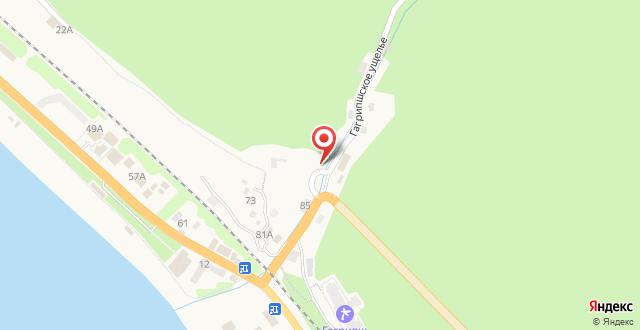Отель Леона на карте