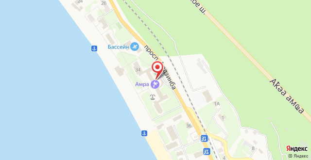 Amra Park-hotel & Spa на карте