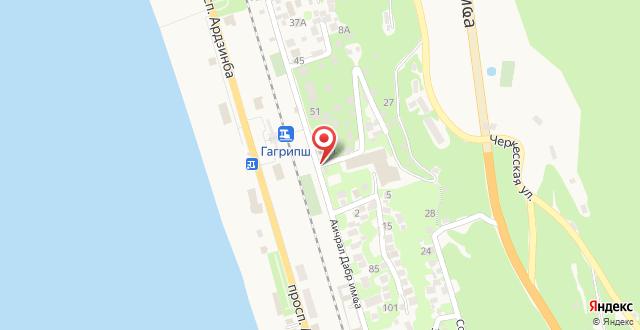 Gostevoy dom Samir на карте