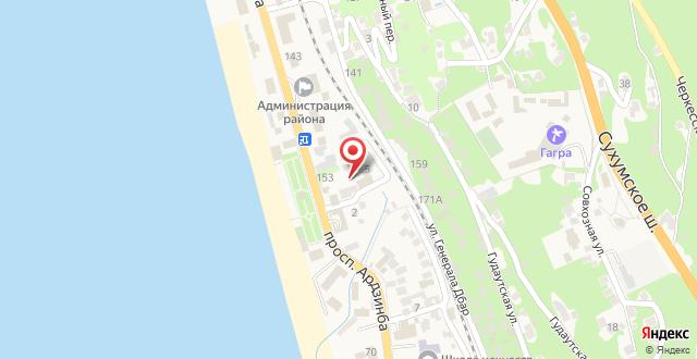 Отель Аmran на карте
