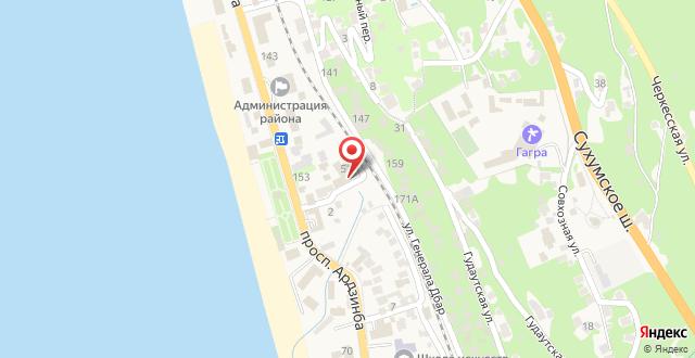Гостиница Тихий Дон на карте