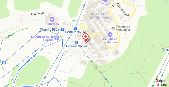 Отель Горки Панорама на карте