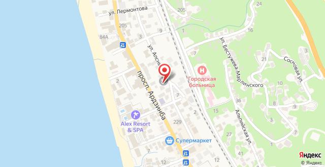 Anna-Saria Guest House на карте