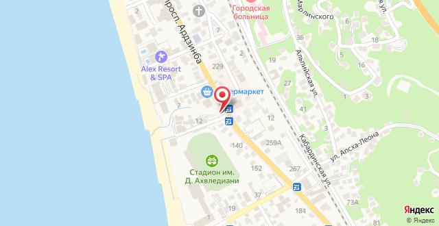 Отель RD Hotel на карте