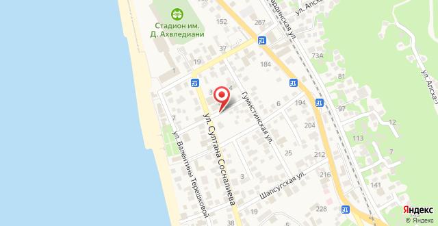Отель Марко Клуб на карте