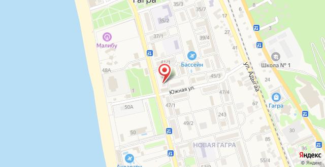 Апартаменты Абазгаа 43/1 на карте
