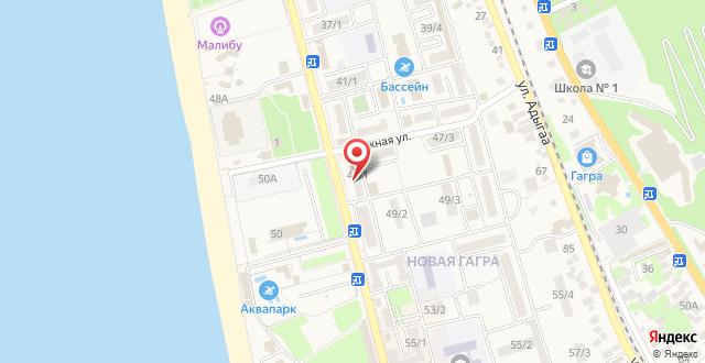 Отель Sea на карте