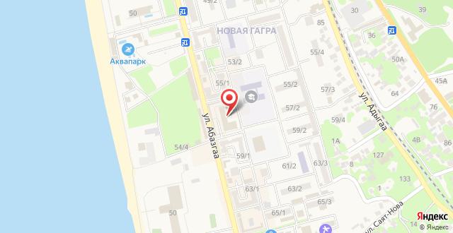 Пансионат Сан Марина на карте