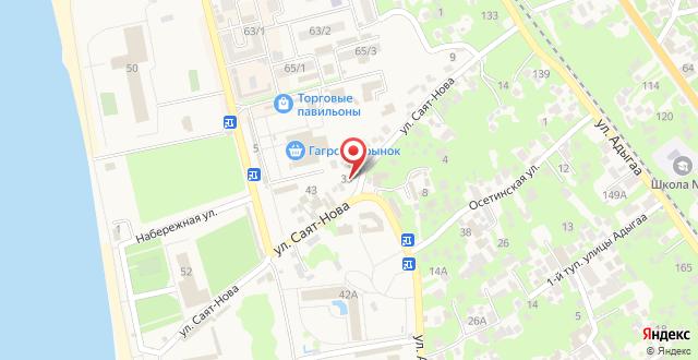 Guest House Mariam на карте