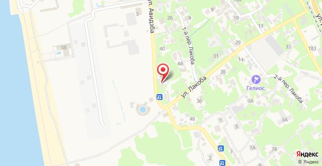Мини-отель Санни Банни на карте