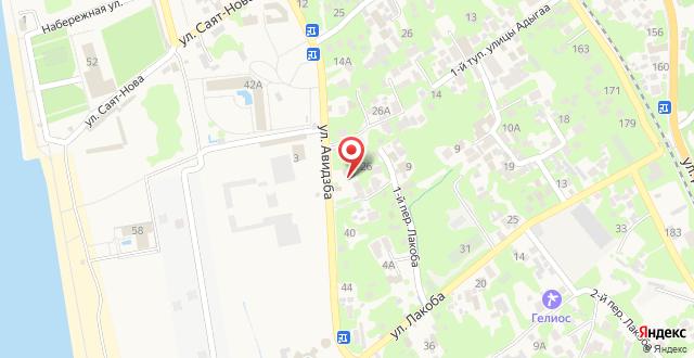 Гостевой дом Абхазская усадьба на карте