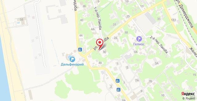 Гостевой дом Вилла Славы на карте