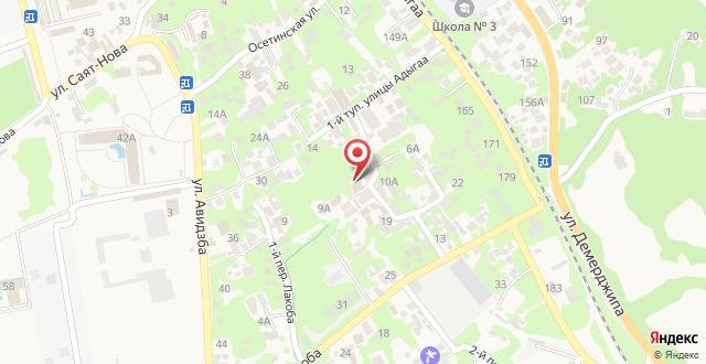 Гостевой дом Орхидея на карте