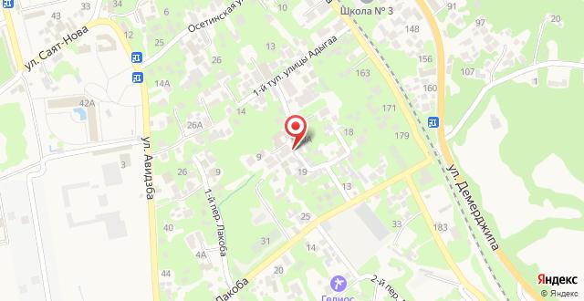 Гостевой дом Валерий на карте