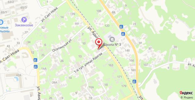 Гостевой дом Вартан на карте