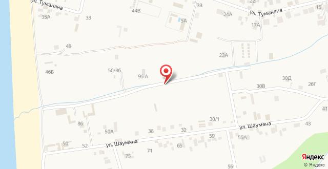 Гостевой дом Тория на карте